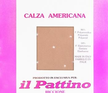 """Calza Americana Originale con Strass """" IL PATTINO RICCIONE """""""