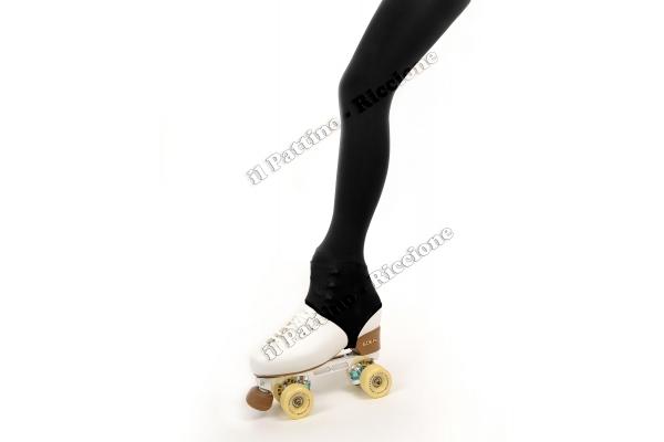 """Calza Americana 50/60 DEN colore nero con Laccio """" il Pattino Riccione """""""