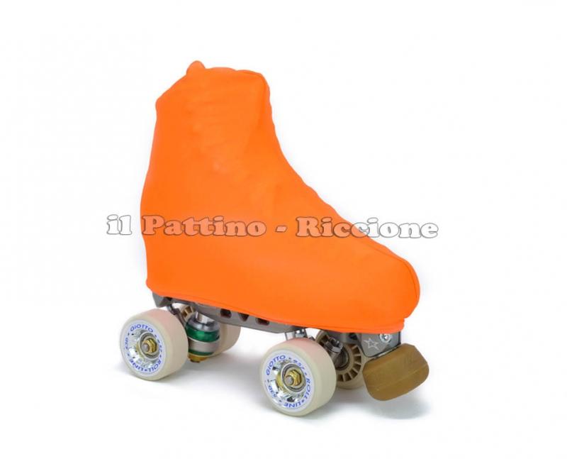 Copripattini colore arancione fluo