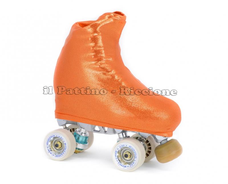 Copripattini colore arancione laminato