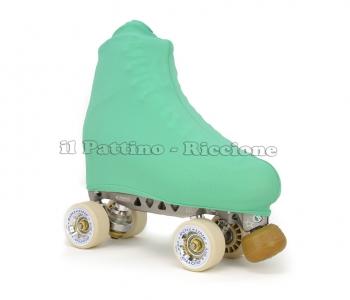 Copripattini colore smeraldo