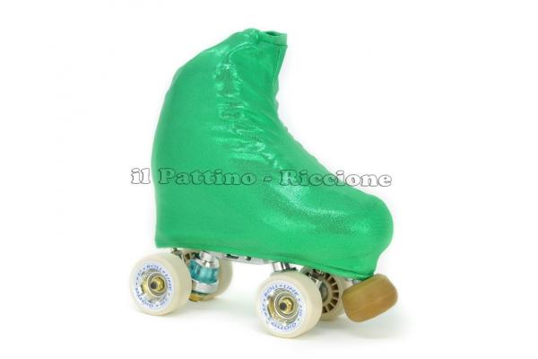 Copripattini colore smeraldo laminato
