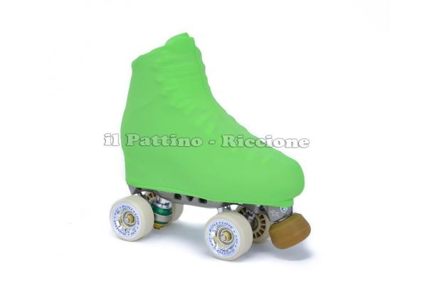 Copripattini colore verde