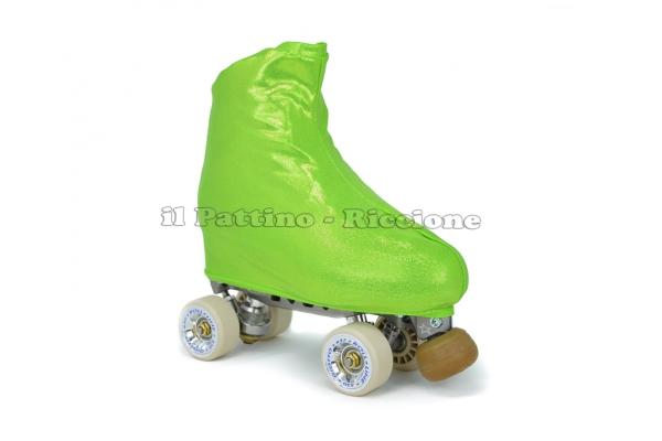 Copripattini colore verde laminato