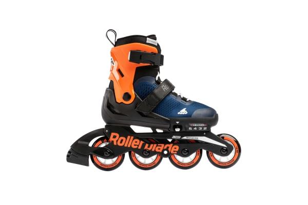 Pattini Rollerblade Microblade blu/arancione