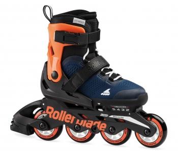 Pattino Rollerblade Microblade blu/arancione