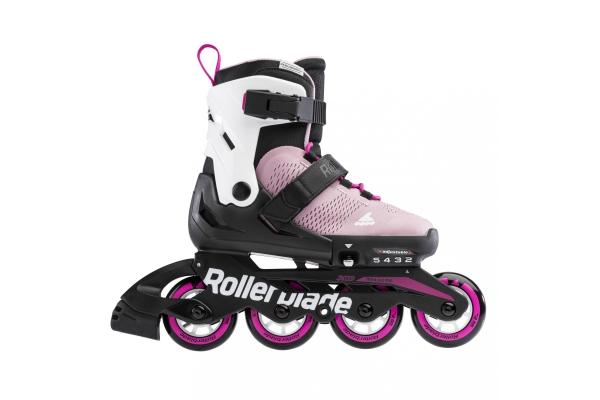 Pattini Rollerblade Microblade rosa/bianco