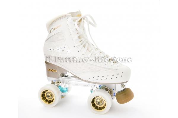 Edea Flamenco + Roll-line Mistral + Ruote Ice