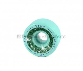 Ruote Star Boiani Glitter HD 70 diam. 57 mm. Verde