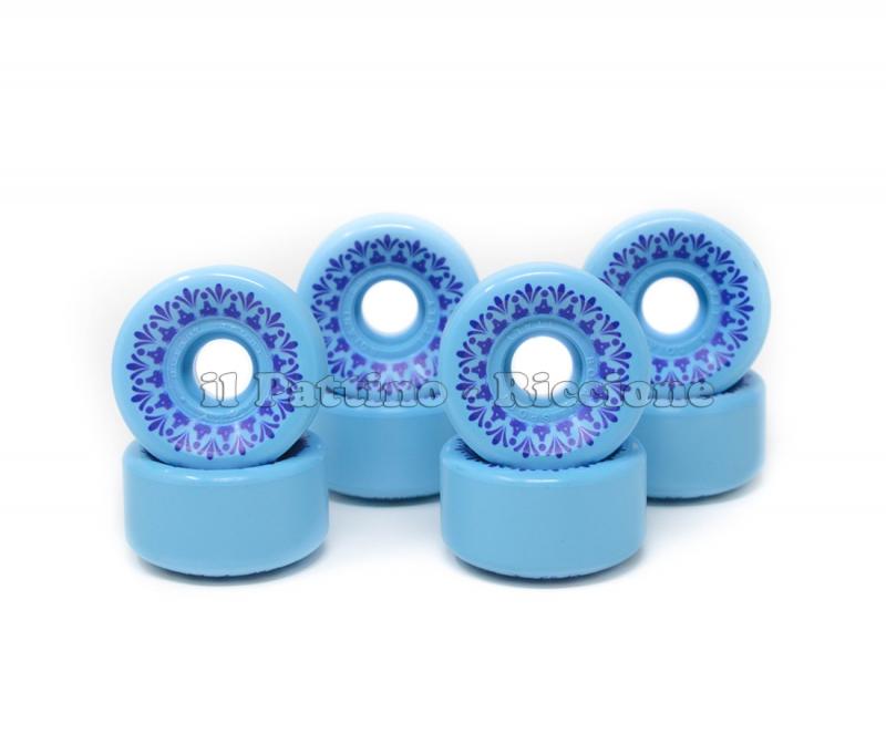 Ruote Star Design CS 40 diam. 57 mm. Azzurre
