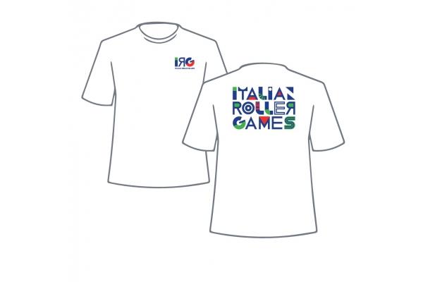 T-Shirt IRG Italian Roller Games - Uomo